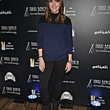 Bree Turner presented an award at The Creative Coalition's Spotlight Initiative Gala during the Sundance Film Festival.