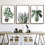 Green Plant Series Canvas Print