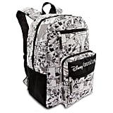 Mickey Mouse Comic Strip Backpack
