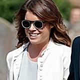 Princess Eugenie Wore Mr. Boho Sunglasses in England