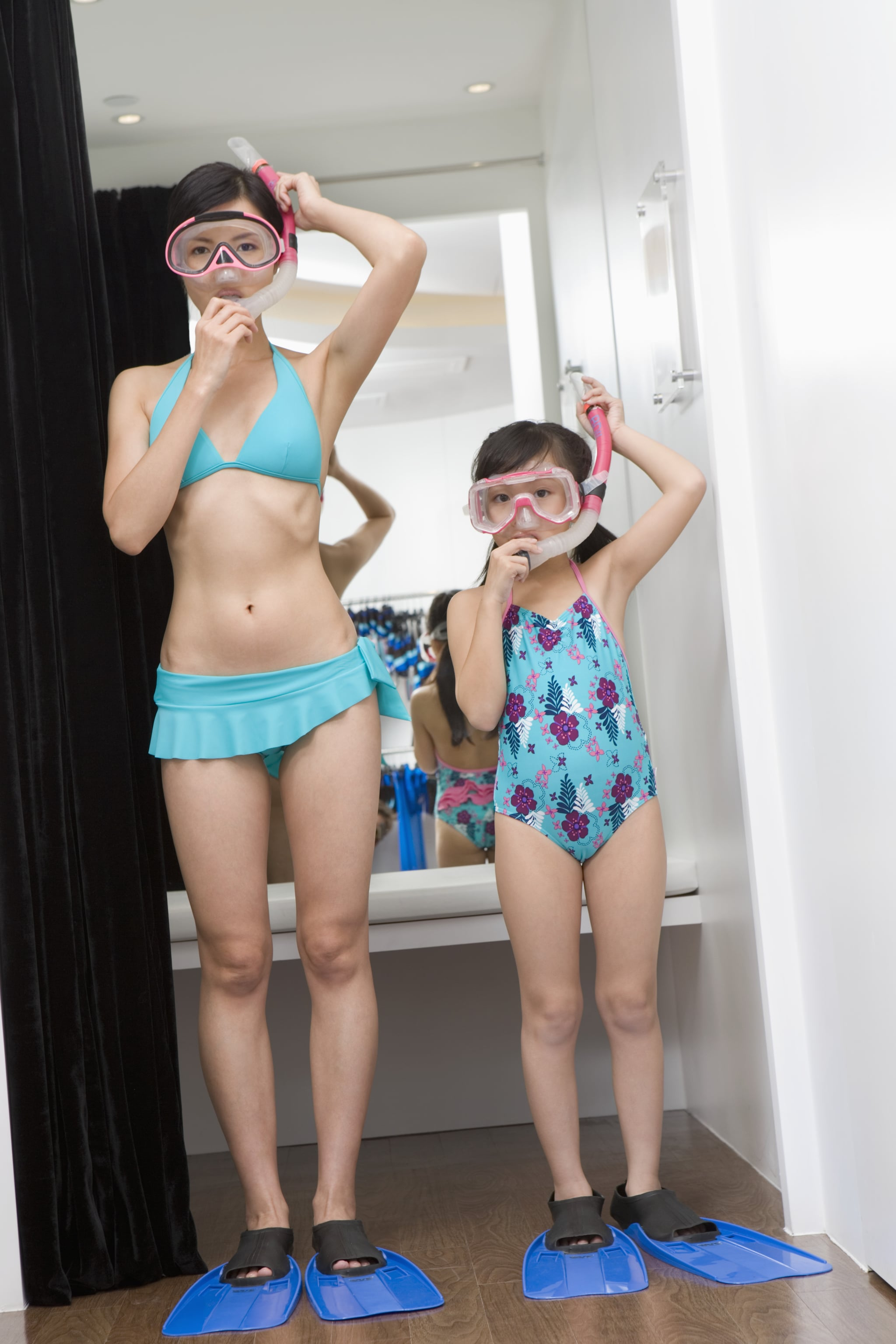 timeless design uk cheap sale classic style of 2019 Bathing Suit Shopping With Your Daughter | POPSUGAR Family