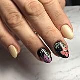 Summer Floral Manicure
