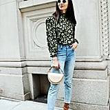 Fall Outfit Ideas: A Blouse, Jeans, and Boots