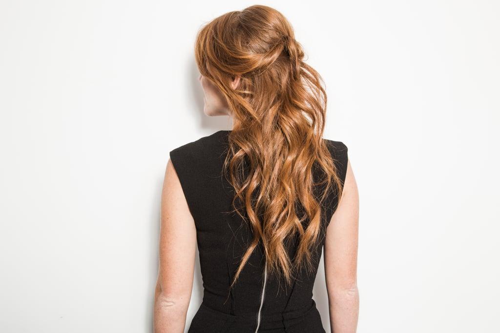 Half-Back Hair: The Real-Girl Way