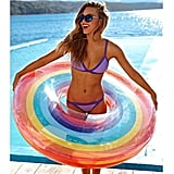 Coohole Hot Rainbow Swim Ring