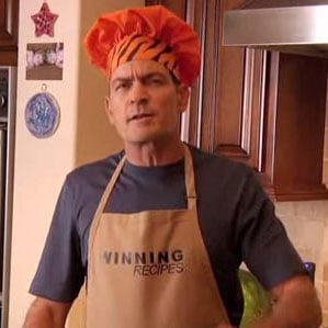 Charlie Sheen's Cooking Video