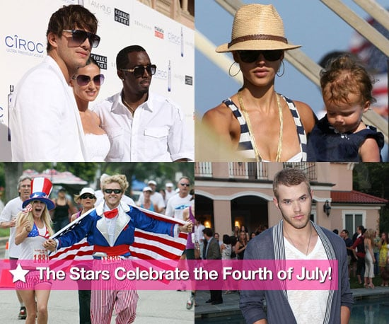 Photos of Celebrities Celebrating the Fourth of July