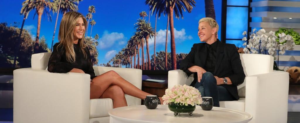 Jennifer Aniston Talking About Friends Reunion on Ellen 2019