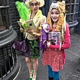 Rita Skeeter and Luna Lovegood