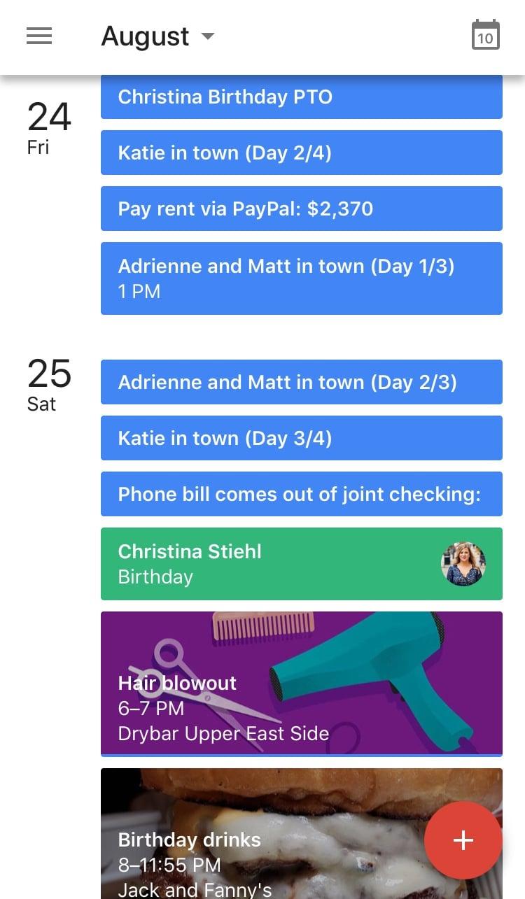 Why Should I Use A Google Calendar Popsugar Love Sex