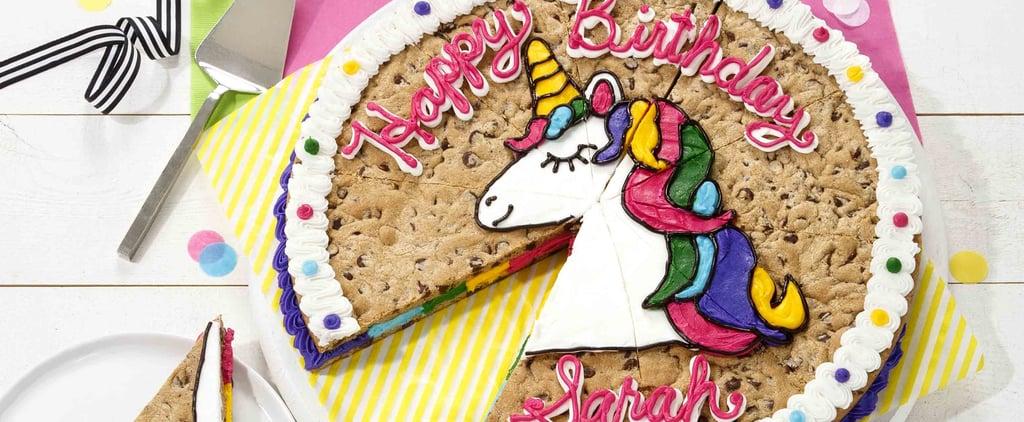 Mrs. Fields Unicorn Cookie Cake