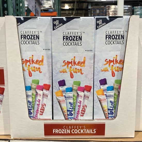 Claffey's Frozen Cocktails Alcoholic Ice Pops at Costco