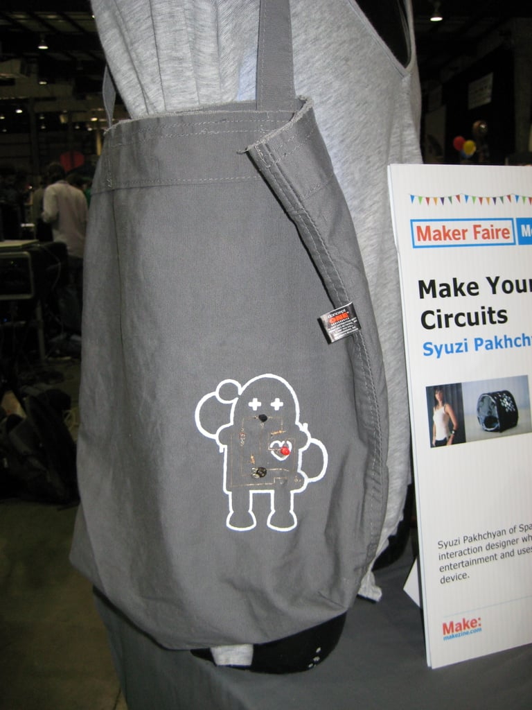 Maker Faire: Sparklab's Make Your Own Soft Circuit Kit