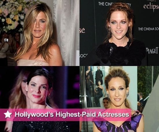 Forbes Highest Paid Actresses for 2010