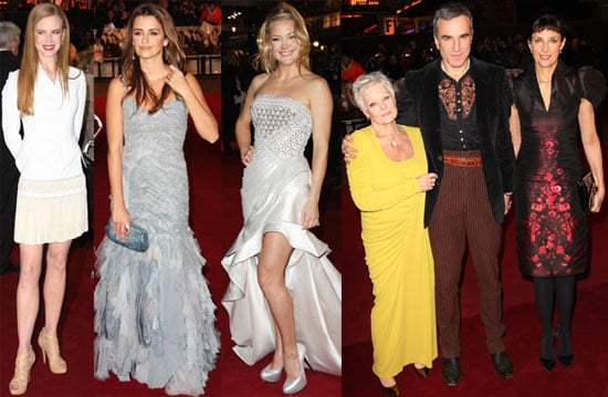 Photos of Fergie, Kate Hudson, Penelope Cruz at London Nine Premiere