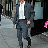 Matthew McConaughey was out and about in NYC.