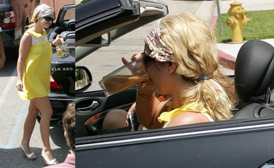 Britney Back To Fake Hair Color We're Used To