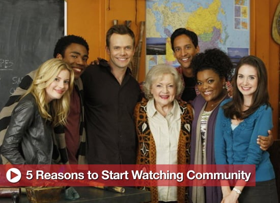 Photos of the New Season of Community, Including Betty White