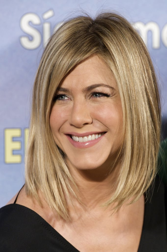 Jennifer Aniston Brings Her Bob Back to the Red Carpet With Adam and Brooklyn