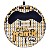 Rave Sports 02408 Mass Frantic Inflatable Water Float Towable Boat Tube