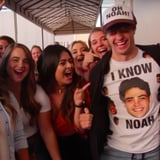 Noah Centineo Tried to Surprise Fans, but They Could Spot His Charm a Million Miles Away
