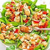 Peanut Lettuce Chicken Wraps