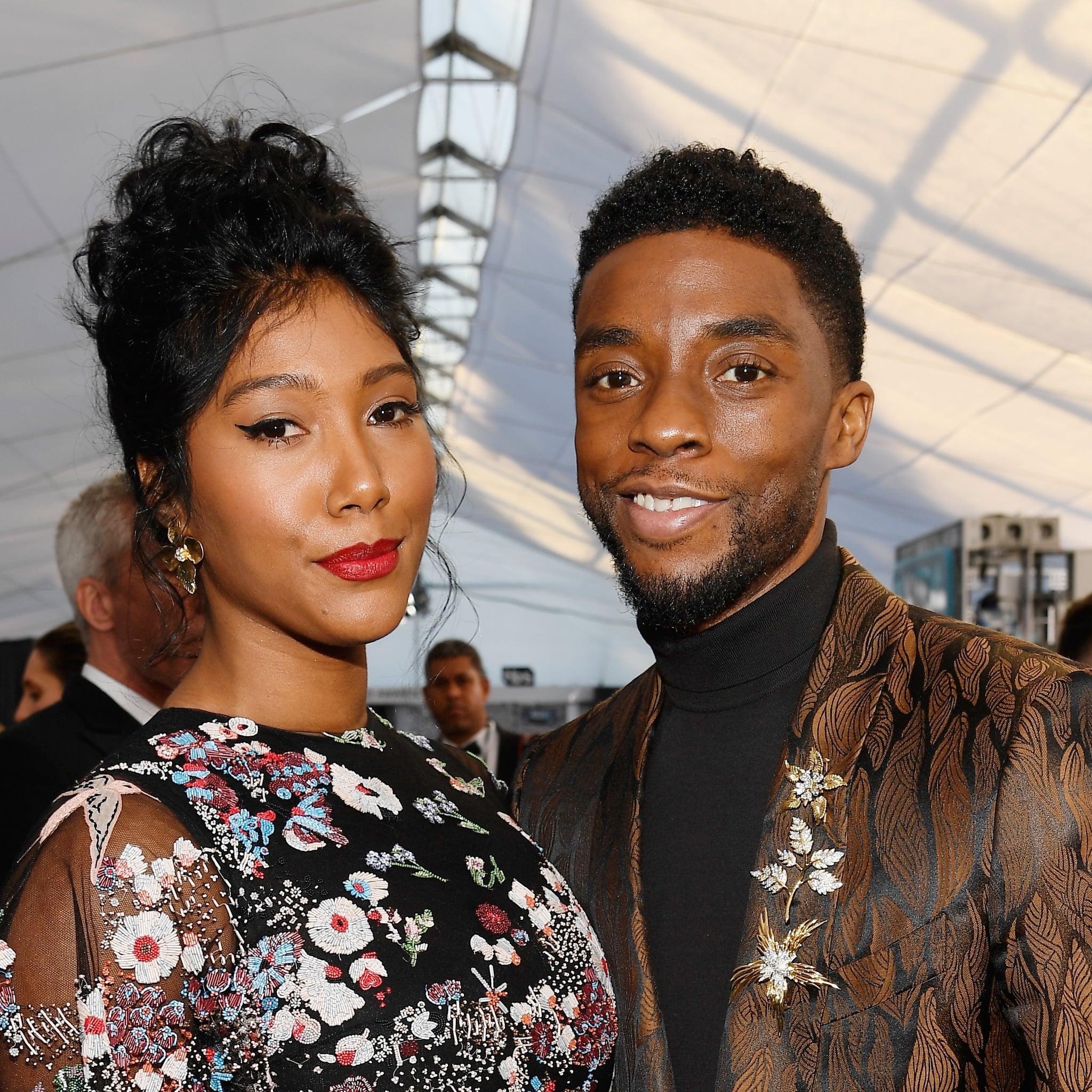 Who Is Chadwick Boseman Dating Popsugar Celebrity