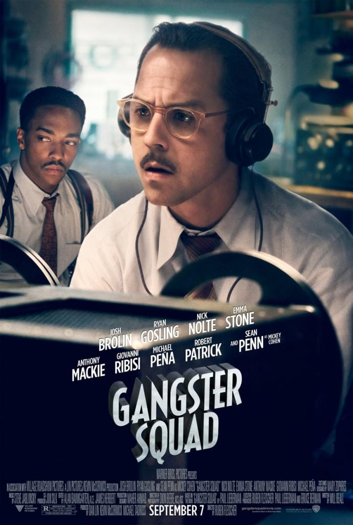 Giovanni Ribisi and Anthony Mackie in Gangster Squad