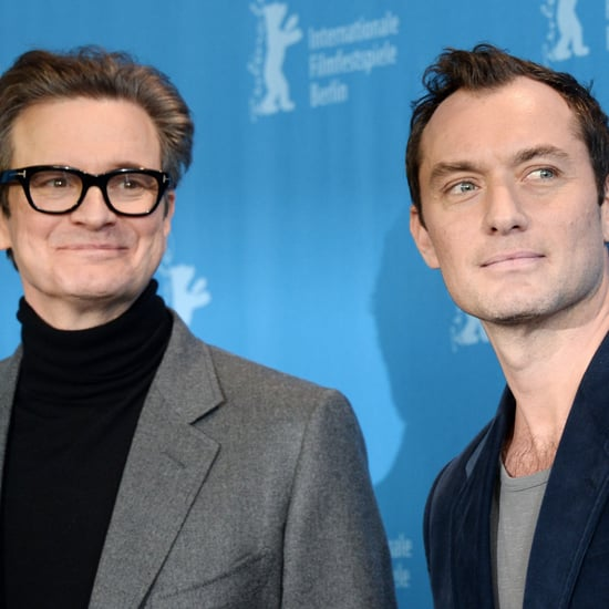 Colin Firth and Jude Law at the Berlin Film Festival