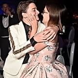 Noah Schnapp and Millie Bobby Brown