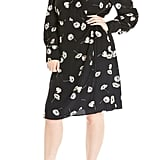 Estelle Poppy Drop Long-Sleeve Wrap Dress