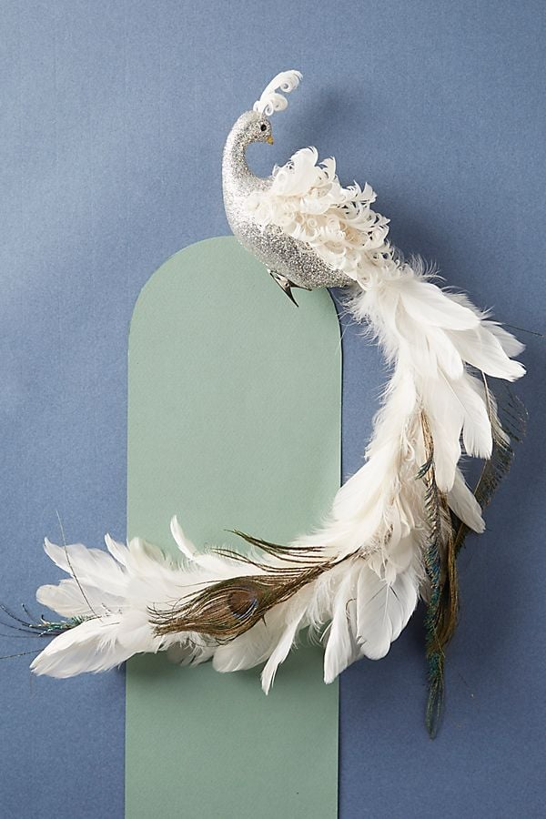 Peacock Clip-On Ornament
