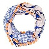 Diane von Furstenberg Silk-Blend Infinity Scarf ($75)