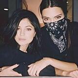 Khloe Kardashian posted a photo of her sisters. Source: Instagram user khloekardashian