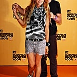 Pip Edwards and Damon Downey at the MTV Australia Nominations Announcement in 2009