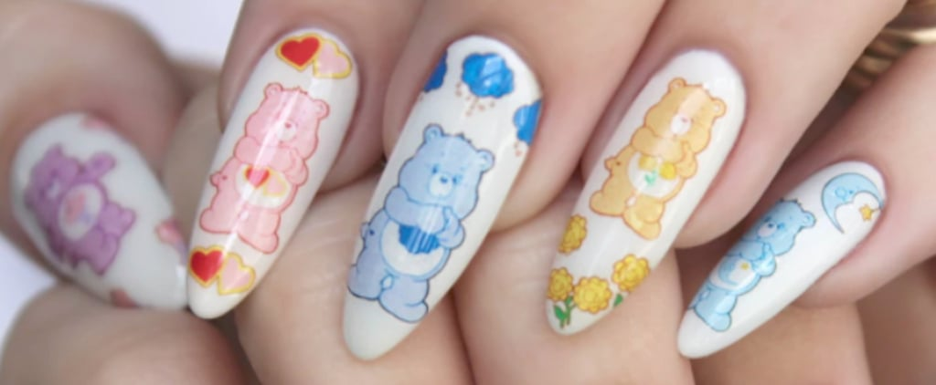 Goody Goody Gosh — These Care Bear Nail Decals Are SO Cute