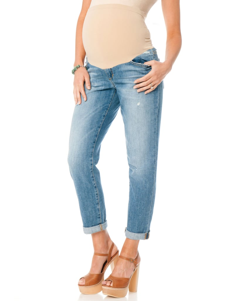 Joe's Jeans Secret Fit Belly Destructed Maternity Jeans