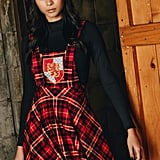Harry Potter Tartan Gryffindor Apron Dress