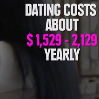 The Cost and Benefits of Dating