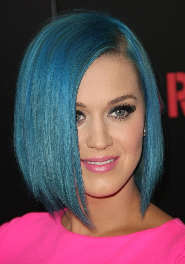 Katy Perry's Inverted Bob in 2012 | Best Bob Haircuts of the Last Decade | POPSUGAR Beauty Photo 6