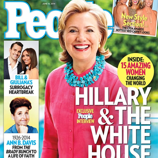 Hillary Clinton in People Magazine June 2014