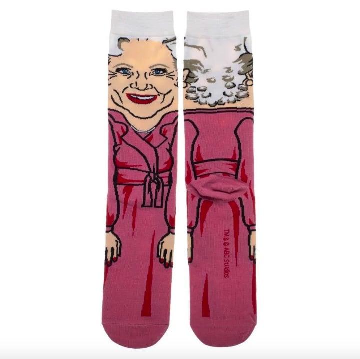 The Golden Girls Funny All Over Graphic Rose Socks