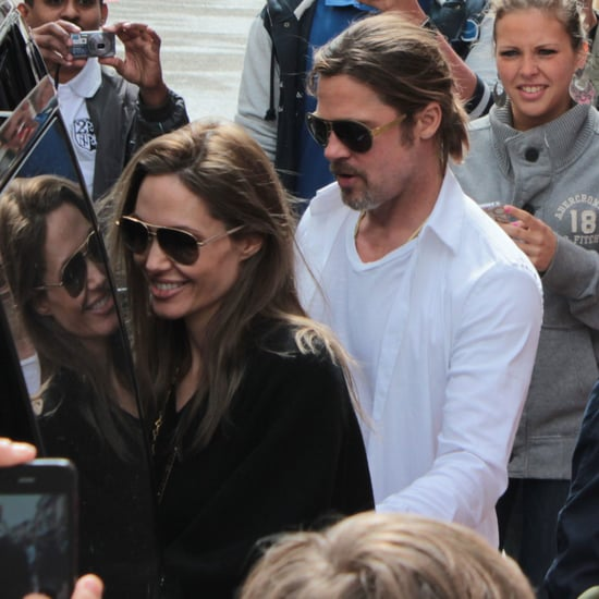 Angelina Jolie and Brad Pitt With Kids