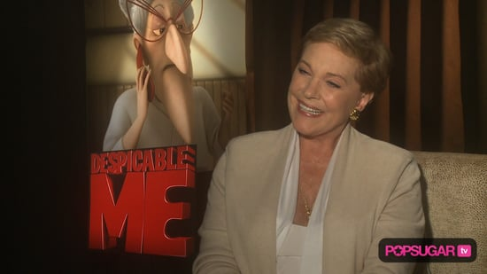 Video of Julie Andrews Interview For Despicable Me