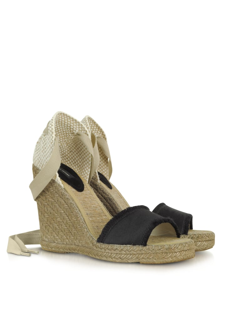 Let these Marc Jacobs wrap wedge espadrilles ($330) be your go-to pair for casual days at work and fun weekend parties.