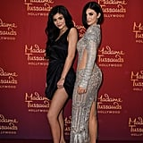 Kylie Jenner With Her Wax Figure Pictures July 2017