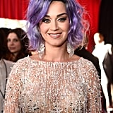 Katy Perry's Lavender Lob From the Front
