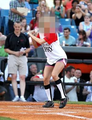 Pics of Celebrity Softball Game in Nashville