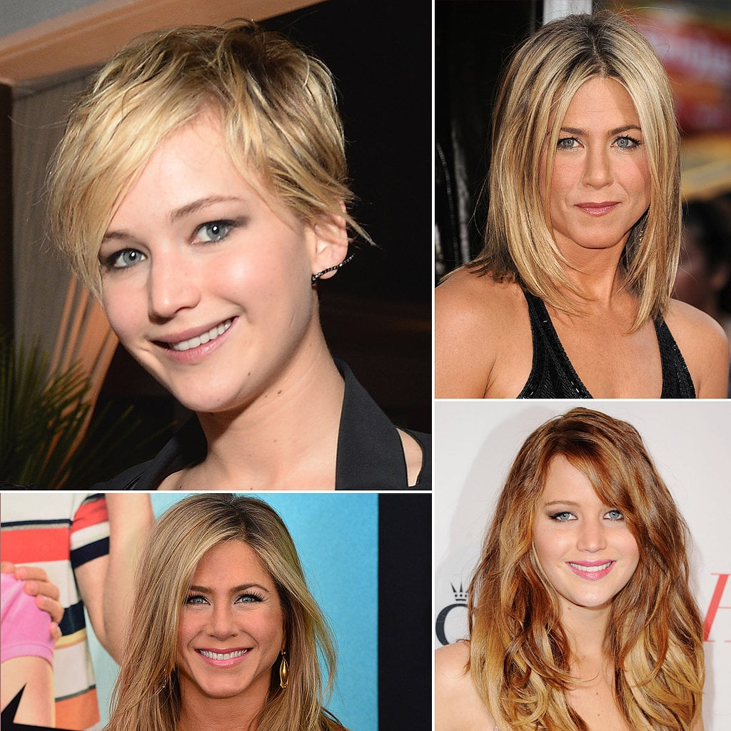 Celebrities With Long and Short Hair Celebrities