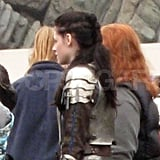 Kristen Stewart's hair for Snow White and the Huntsman.
